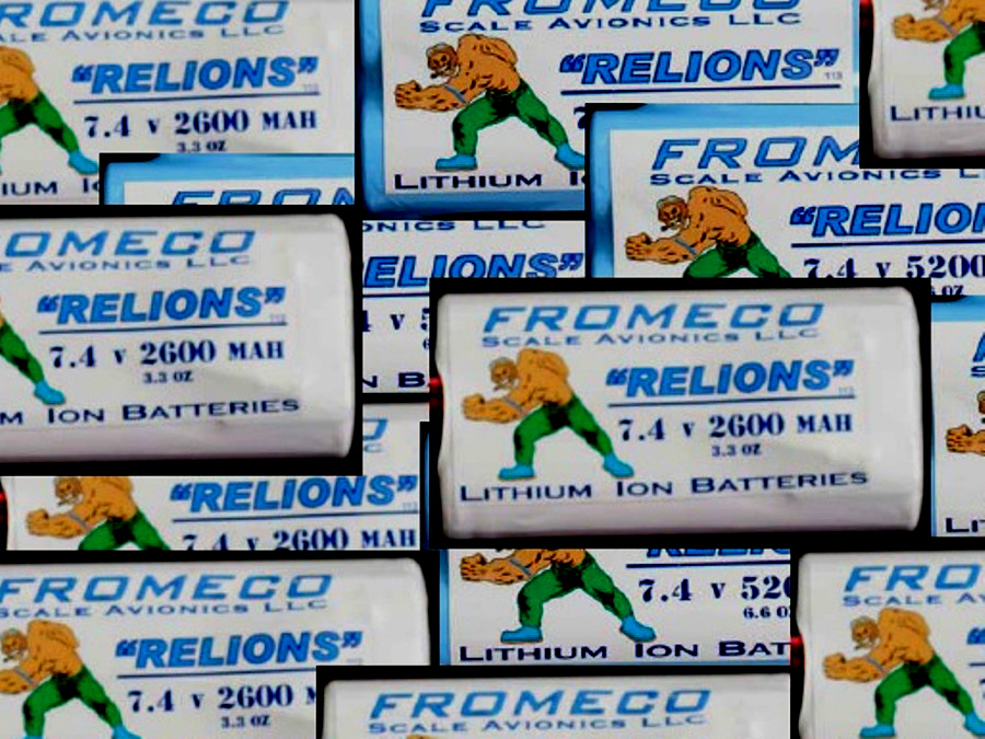 Fromeco LiIon Batteries