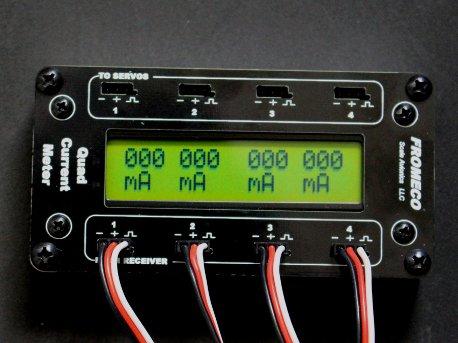Quad Meter for Servo Matching